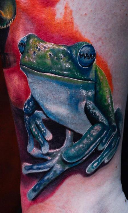 Tattoos - Frog - 64994