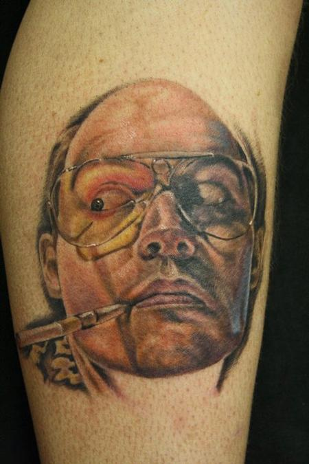 Justin Mariani - Fear and Loathing Tattoo