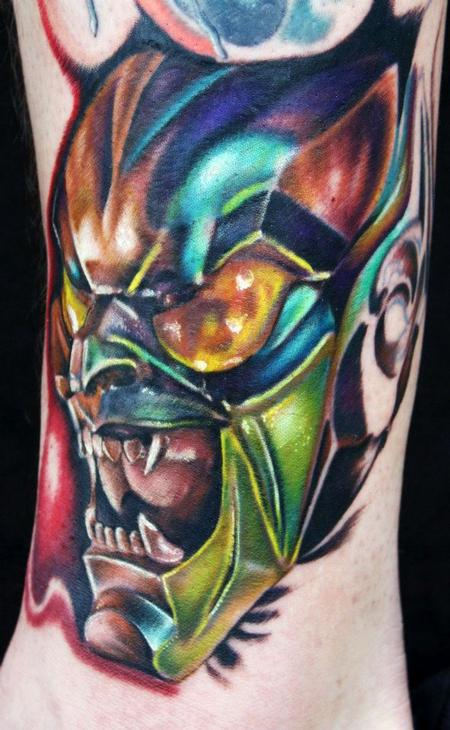 Tattoos - Green Goblin - 69527