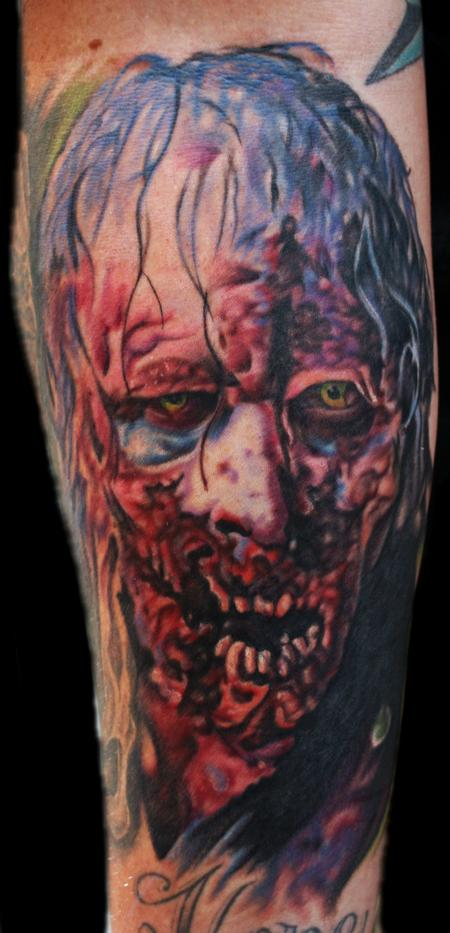 Tattoos - Walking Dead Zombie - 69581