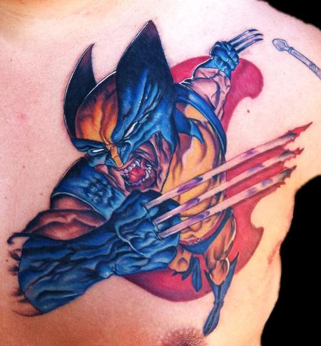 Tattoos - Wolverine Xmen - 69577