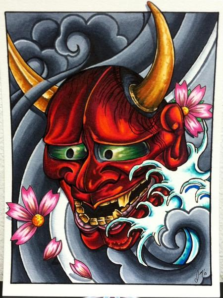 Tattoos - Hannya Mask - 86273