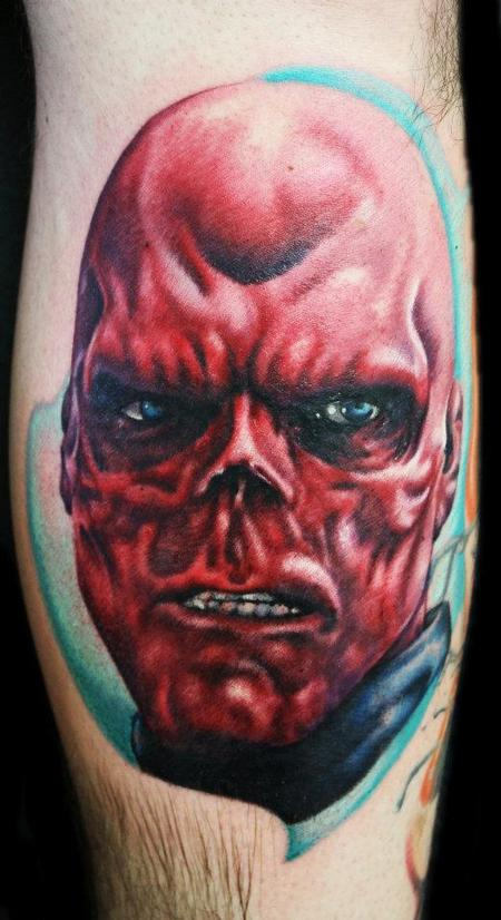 Tattoos - Red Skull/ Captain America - 69574