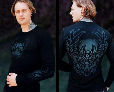 C108 Biomech Tribal Long Sleeve Guy Aitchison