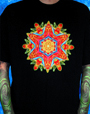 C129Black - Cosmic Burst T-Shirt