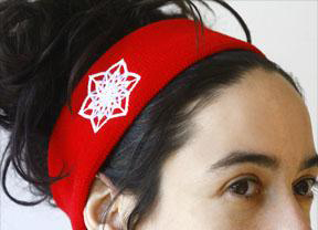 C130 Crystal Headband Michele Wortman