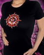 Eye babydoll shirt michele wortman