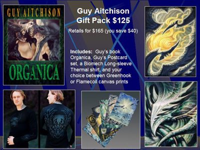 Guy Aitchison Gift Organica Greenhook Flamecoil