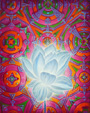 Radiant Flux: (mounted) Archival Canvas Art Print