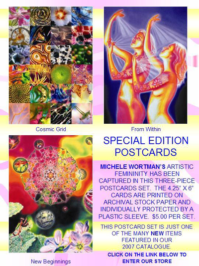 G300 - Michele Wortman Postcard Set