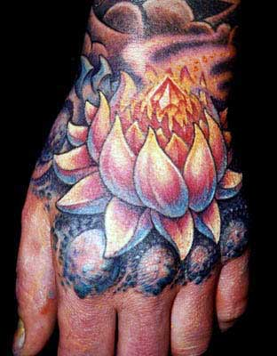 Tattoos - Lotus - 14352