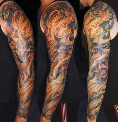 Guy Aitchison - Arm Sleeve