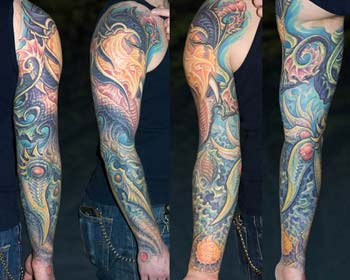 Tattoos - Arm Sleeve - 28428