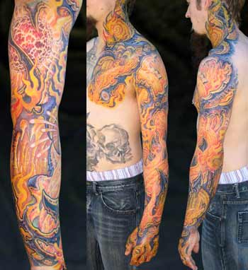 Tattoos - Magma Arm - 28634