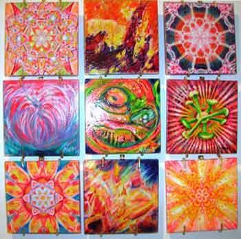 Michele Wortman - Color Burst Collection