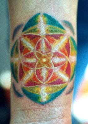 Tattoos - Color Burst - 29070