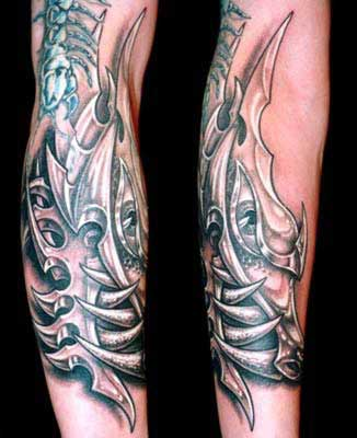 Tattoos - Metalic Dragon - 29096