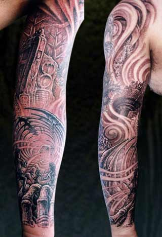 Tattoos - Sleeve Scene - 29098