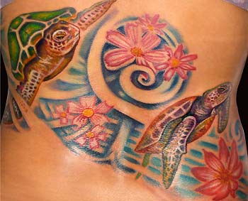 Tattoos - Turtle Bodyset - 30516