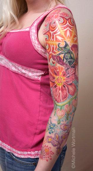 Tattoos - Amanda sleeve - 71321