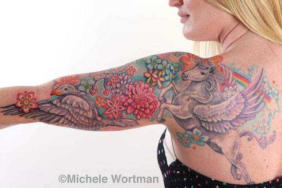 Michele Wortman - shelley uni-peg  bodyset