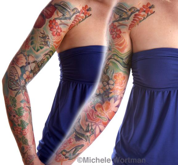 Michele Wortman - amy hummingbird sleeve