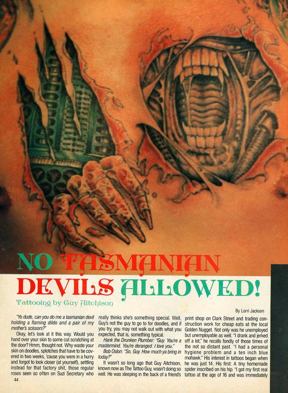 - Tattoo Revue 1990, page 1
