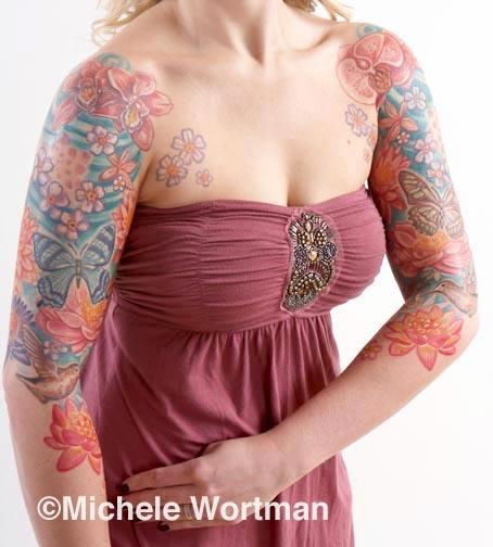 Michele Wortman - Jenn flower bodyset