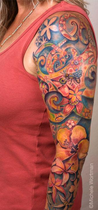 Tattoos - Amy quiltsleeve - 71325