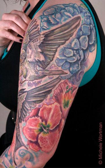 Michele Wortman - casey barnswallow sleeve detail