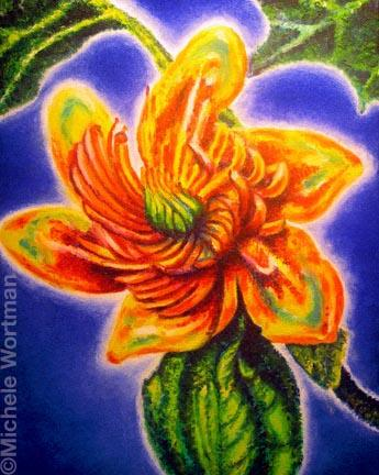 Michele Wortman - Glow flower 02