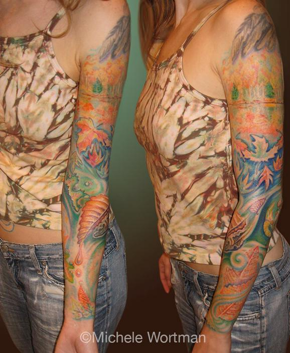 Michele Wortman - ACs Autumn Sleeve