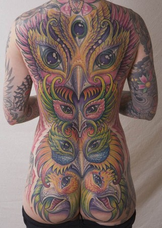 Guy Aitchison - Backpiece coverup tattoo