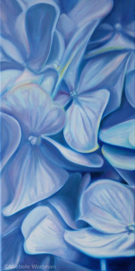 Michele Wortman - Floating Hydrangea 02
