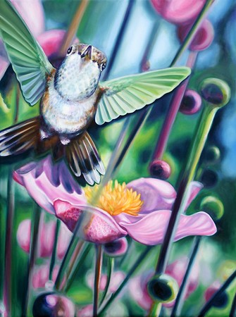 Michele Wortman - Humming Bird
