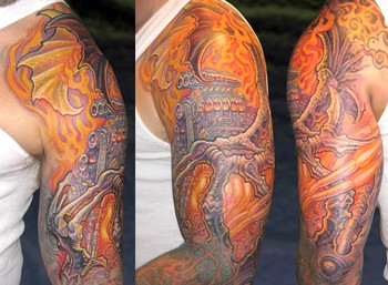Guy Aitchison - Engine Half Sleeve