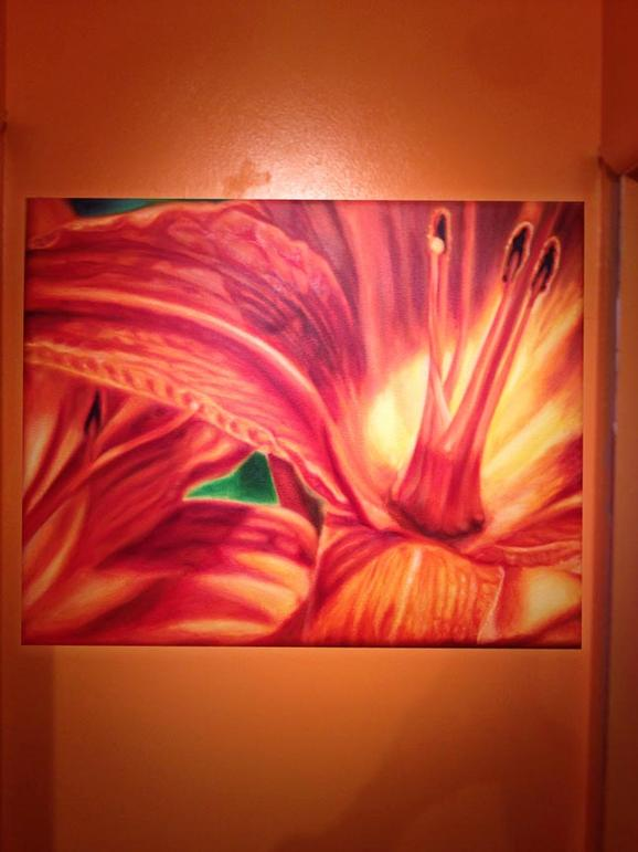 Michele Wortman - Tiger lily 04 wall example