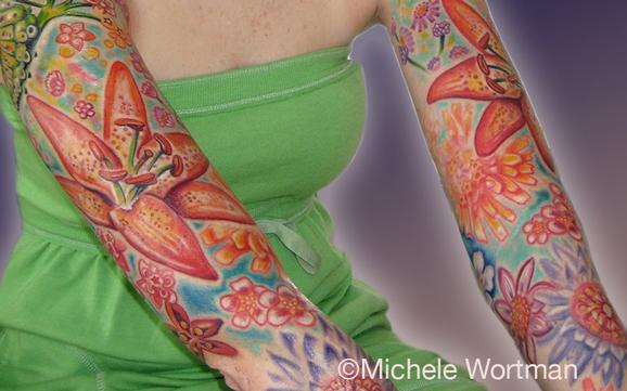 Michele Wortman - Nicoles Caterpillar to Butterfly bodyset