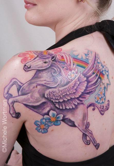 Michele Wortman - Shelley unipeg back shoulder