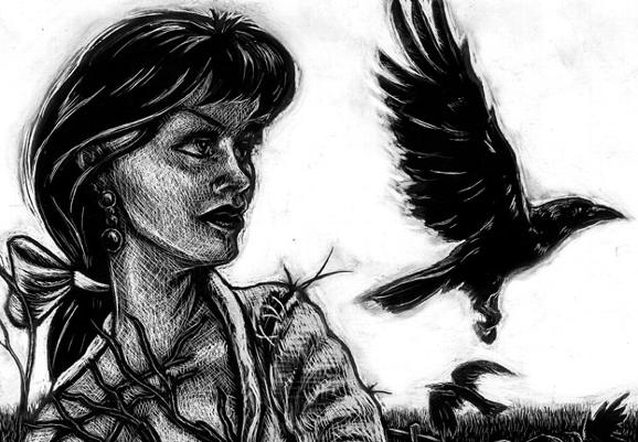Tattoos - Tee Jay: Mrs. S. Crow (detail) - 77537