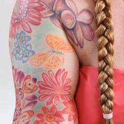 Tattoos - Kim daisy bodyset - 71355