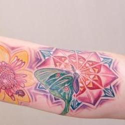 Tattoos - Yolanda inner arm - 79802