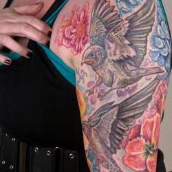 Tattoos - Casey barnswallow sleeve - 71328