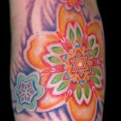 Tattoos - Color Burst - 29071