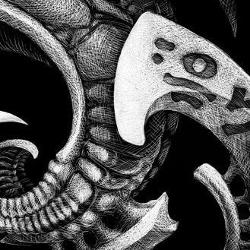 Tattoos - Aaron Cain: Xenoglyphs 2 (detail) - 77557