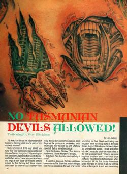 Tattoos - Tattoo Revue 1990, page 1 - 71854