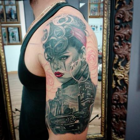 Tattoos - Women in LA - 119973
