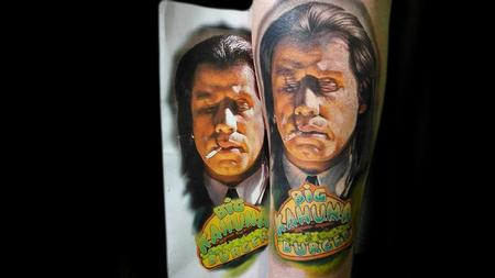Tattoos - Vincent Vega - Pulp Fiction - 1994 - 116853