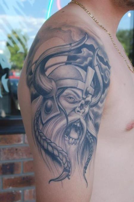 Ben Rettke - Zombie Viking