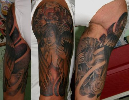 Tattoos - adam's sleeve - 80068